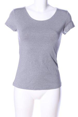 GReY BERLIN T-Shirt hellgrau meliert Casual-Look