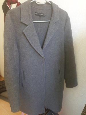 Trafaluc by Zara Manteau en laine gris-gris foncé