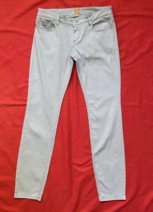 Boss Orange Pantalone a sigaretta grigio chiaro
