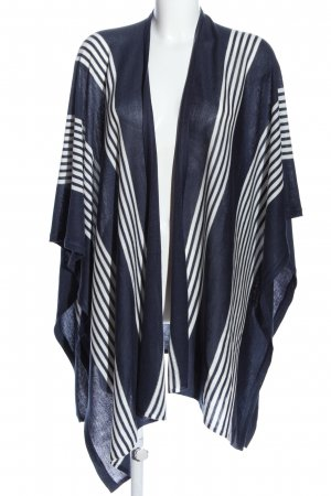 Greystone Shoulder Scarf blue-white striped pattern casual look