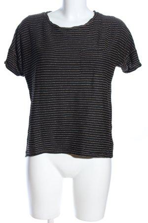 Greystone T-Shirt schwarz Allover-Druck Casual-Look
