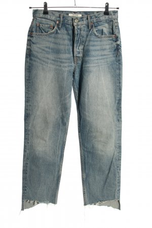 GRLFRND Hoge taille jeans blauw casual uitstraling