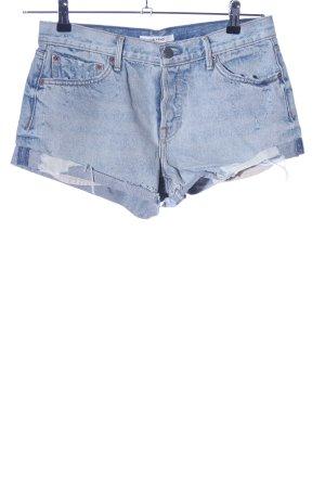 GRLFRND Hot Pants blau Casual-Look