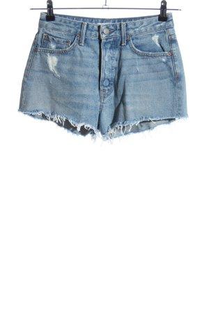 GRLFRND Jeansshorts blau Casual-Look