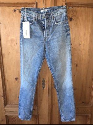 GRLFRND Jeans taille haute multicolore