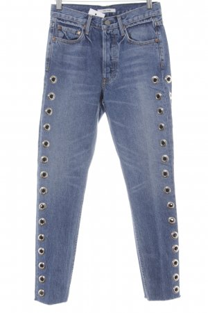 GRLFRND Skinny Jeans blau Casual-Look