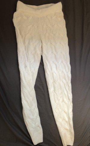 Asos Pantalon en laine blanc cassé