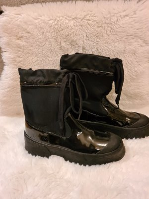 Zara Wellington laarzen zwart Gemengd weefsel