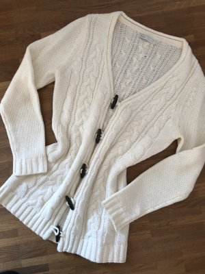 Only Coarse Knitted Jacket natural white-white cotton