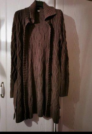s. Oliver (QS designed) Cardigan a maglia grossa grigio scuro