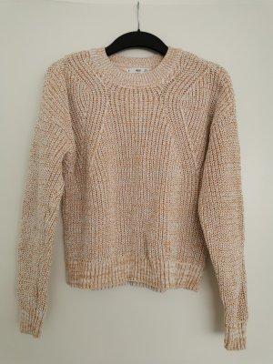 Grobstrick-Pullover