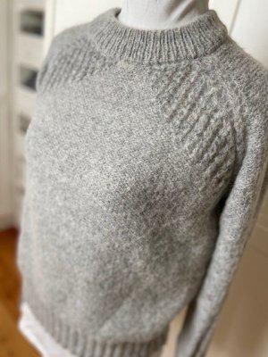 Grobstrick Pullover von Garcia Jeans grau