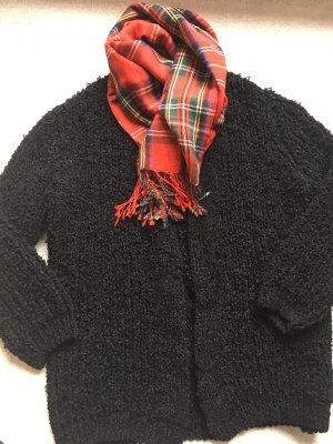 Cartoon Cardigan a maglia grossa nero