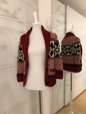 Grobstrickjacke im Norwegerdesign von Hollister