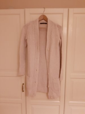 Zara Knit Coarse Knitted Jacket multicolored