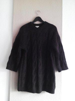 H&M Premium Pullover a maglia grossa marrone Lana