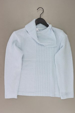 Sweter z grubej dzianiny niebieski-niebieski neonowy-ciemnoniebieski-błękitny