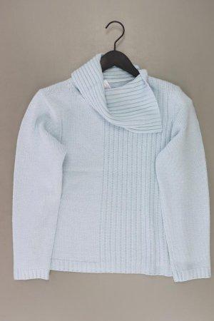 Coarse Knitted Sweater blue-neon blue-dark blue-azure polyacrylic