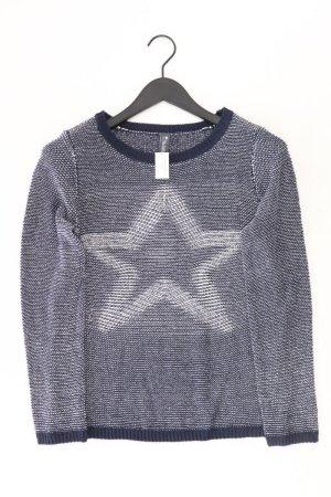 Coarse Knitted Sweater blue-neon blue-dark blue-azure