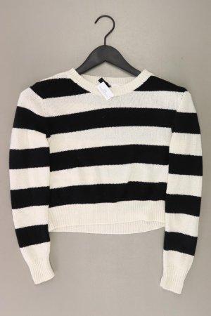 Pullover a maglia grossa bianco sporco