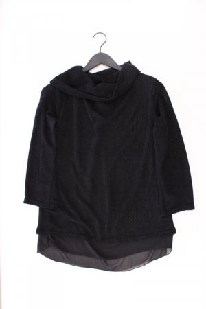Jersey de punto grueso negro Acrílico