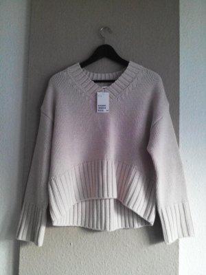 H&M Pullover a maglia grossa rosa chiaro Acrilico
