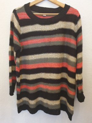 s.Oliver Coarse Knitted Sweater light grey-pink