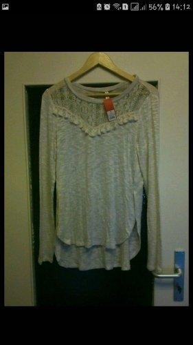 Camicia maglia bianco sporco