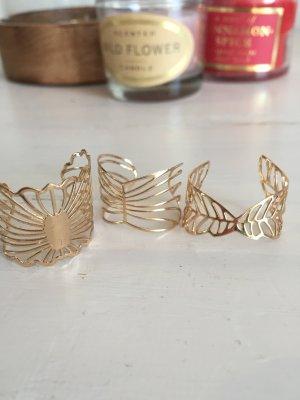 H&M Anillo de oro color oro