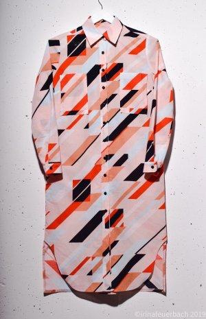 Groovy lang Hemd Shirt Kleid 100 % Baumwolle