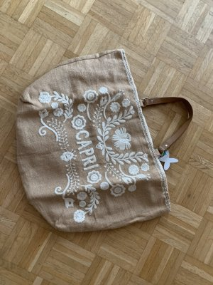 Antica Sartoria Torebka z rączkami Wielokolorowy Bawełna