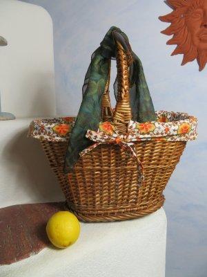 Retro 70ger Bolso tipo cesta multicolor