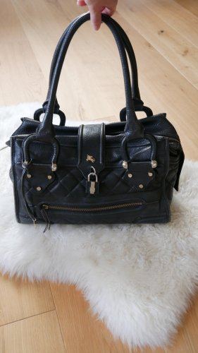 Burberry Carry Bag black-gold-colored