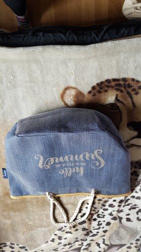 Aniston Sac porté épaule bleu acier