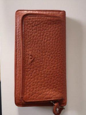 Wallet dark orange