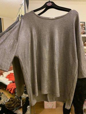 Große Größen Glänzendes T shirt