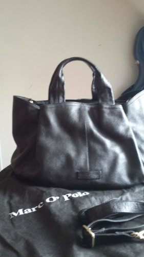Campus by Marc O'Polo Sac Baril noir cuir