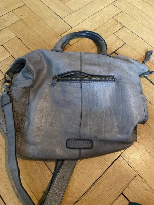 Liebeskind Carry Bag silver-colored leather