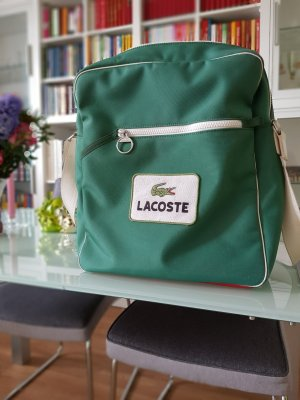 Große Lacoste Tasche, Retro Style