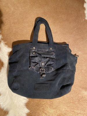 Große Liebeskind Leder Tasche Handtasche shopper grau
