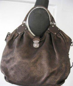 Große Mahina Mordore Louis Vuitton Tasche aus feinem Echtleder - sehr guter Zustand