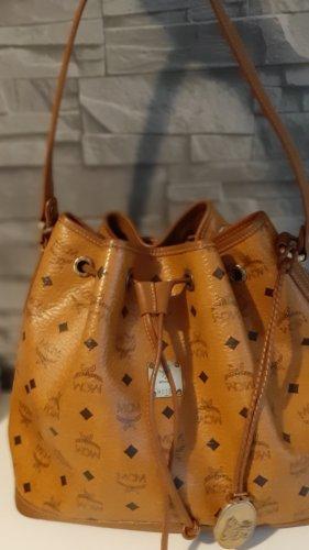 MCM Shoulder Bag brown-cognac-coloured