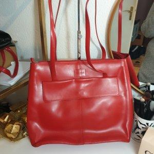 Große rote Esprit Tasche