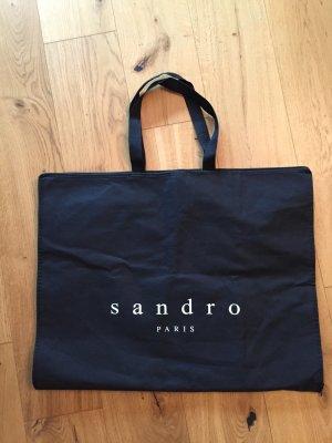 Sandro Paris Pokrowiec na ubrania czarny-biały