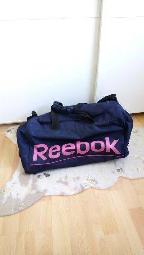 Reebok Sporttas roze-donkerblauw