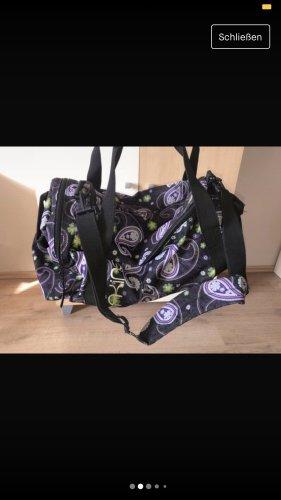 Dakine Borsa college nero-viola scuro