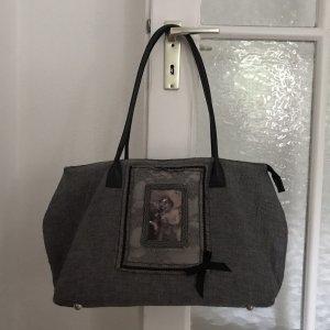 Zinober Tradycyjna torebka czarny-biały
