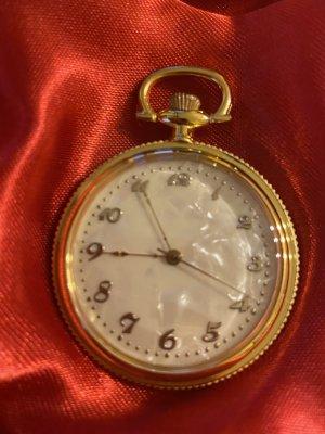 Orologio analogico oro