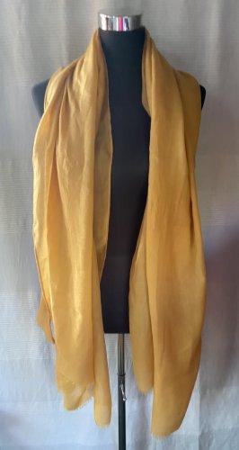 Großer gelber Schal
