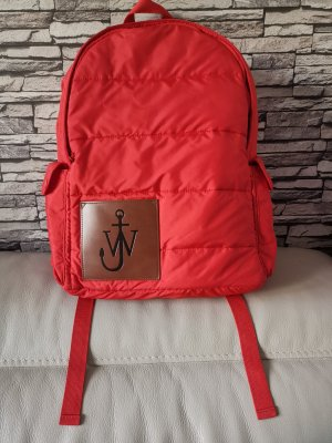 Jw Anderson Trekking Backpack red